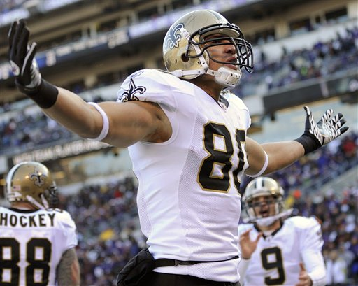 Drew Brees, Jimmy Graham