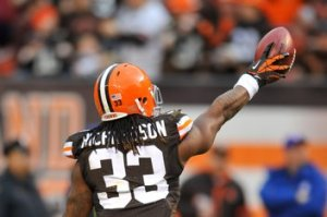 NFL: Washington Redskins at Cleveland Browns