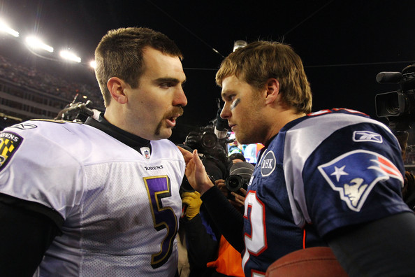 Tom+Brady+Joe+Flacco+AFC+Championship+Baltimore