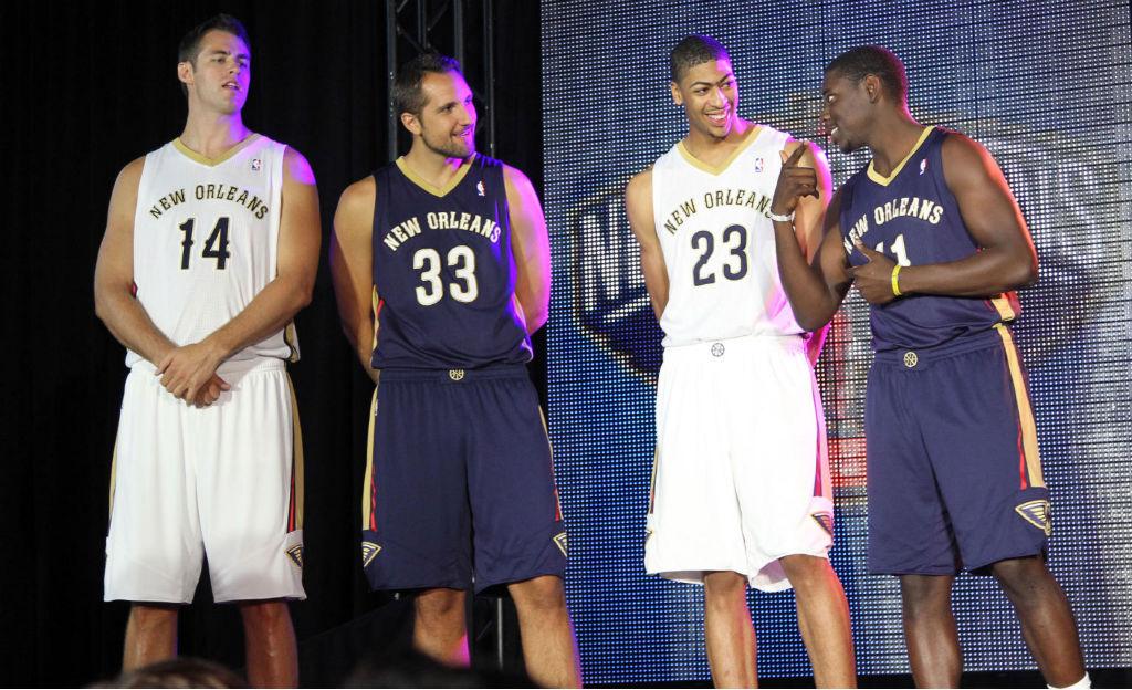 New Orleans Pelicans Unveil Uniforms 01