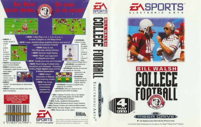 Bill Walsh College Football [EUR]